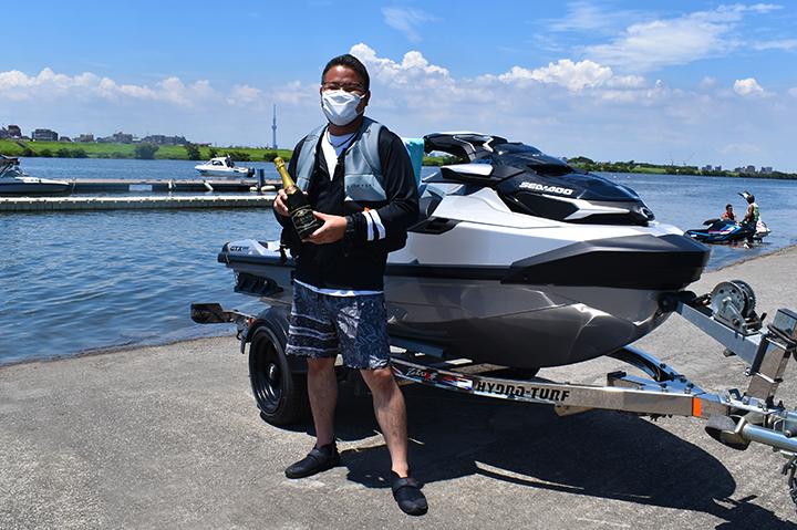 Sea-Doo GTX LIMITED 300 納艇